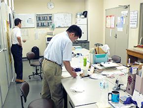 日本生命相互会社による企業内訓練の様子1