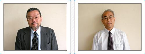 左 : 野崎 勝彦 | 右 : 松本 勲