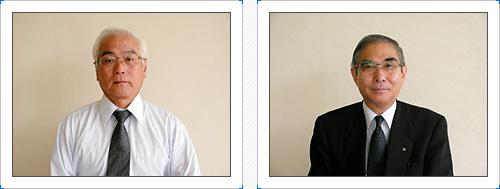 左 : 三好 修二 | 右 : 高山 義弘